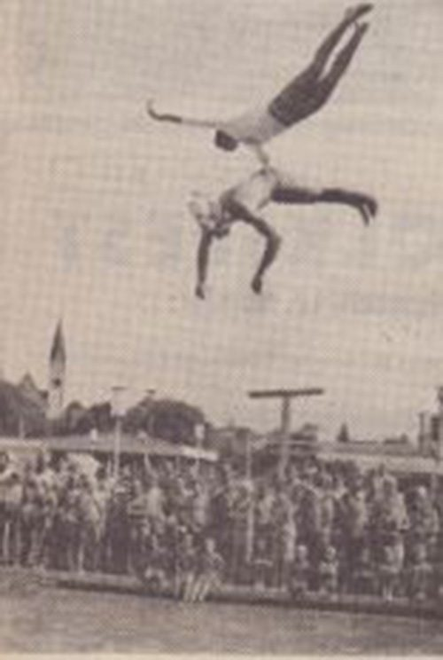 Bild Turmspringer
