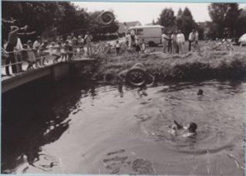 Rettungsübung Brücke